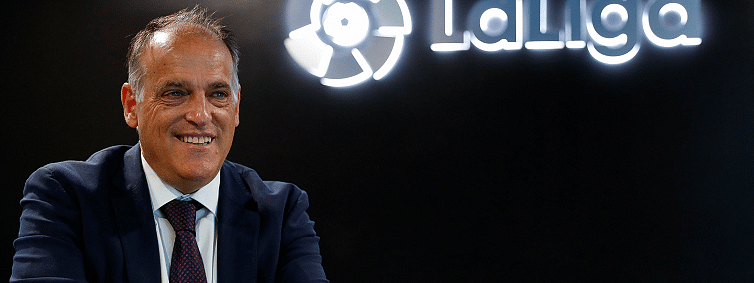 LaLiga president Tebas says China huge market for Spanish football