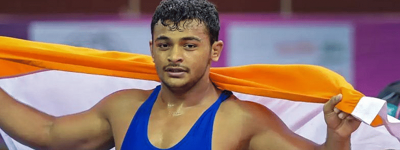 Deepak Punia becomes 1st Indian junior world champion