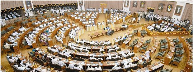 Noisy scenes erupt in Puducherry Assembly