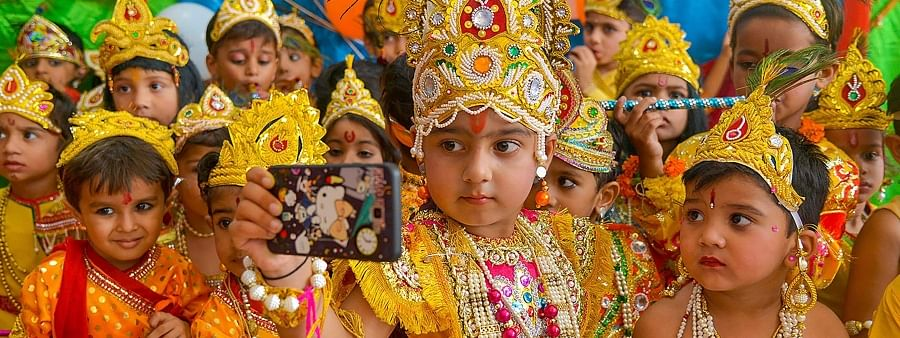Janmastami celebrated with great fervour in Bengal