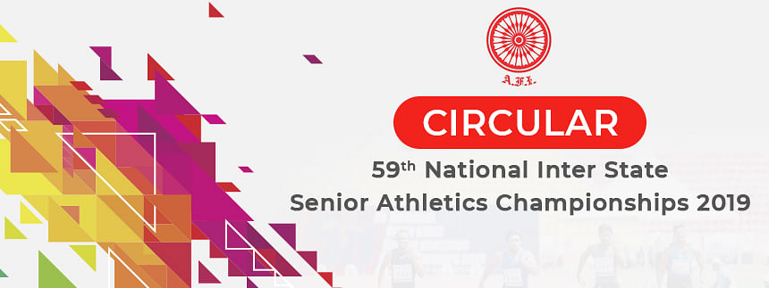 59th National Athletics C'ship from Aug 27