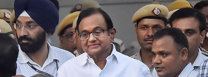 Chidambaram admitted to AIIMS for medical check-up