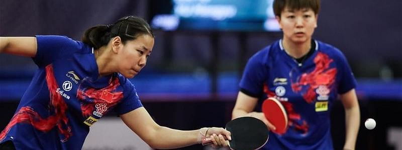 Chinese Gu/Mu to fight for title against Japanese pair at ITTF Czech Open