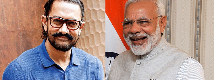 PM Modi thanks Aamir Khan for his support on plastic-free India