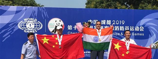 World Police Games 2019: Ashish Kapoor bags 2 gold in Tennis