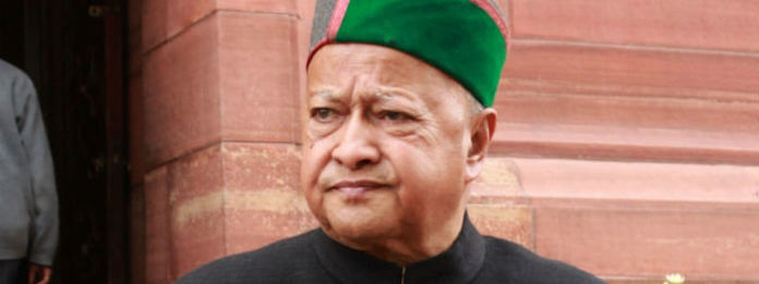 Virbhadra Singh hospitalised in Shimla after chest congestion