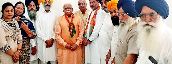 SAD to tie up with BJP for Haryana assembly polls