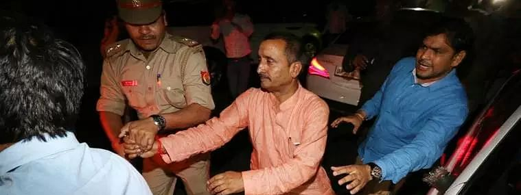 Ousted MLA Senger accused of rape in Unnao case