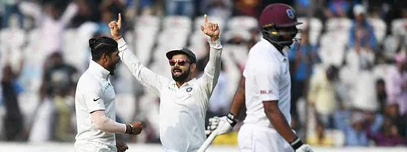 India to outplay West Indies once again