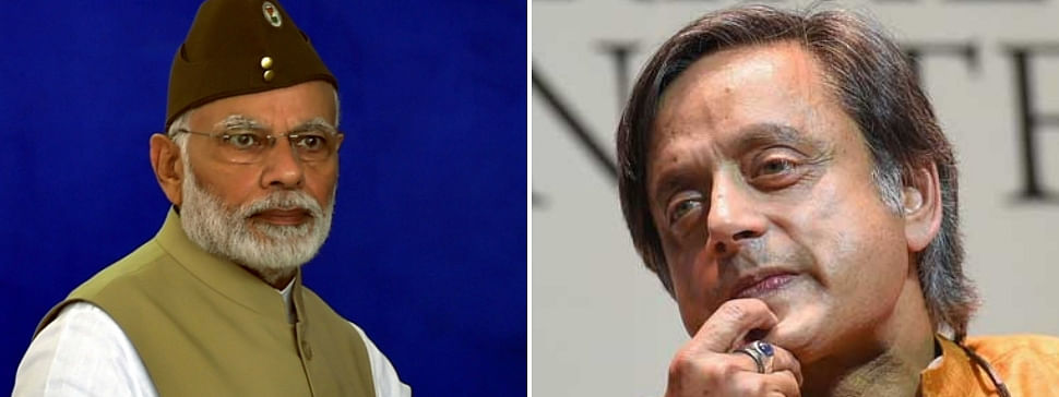 Modi raises his vote share from 31 pc to 37 pc : Tharoor