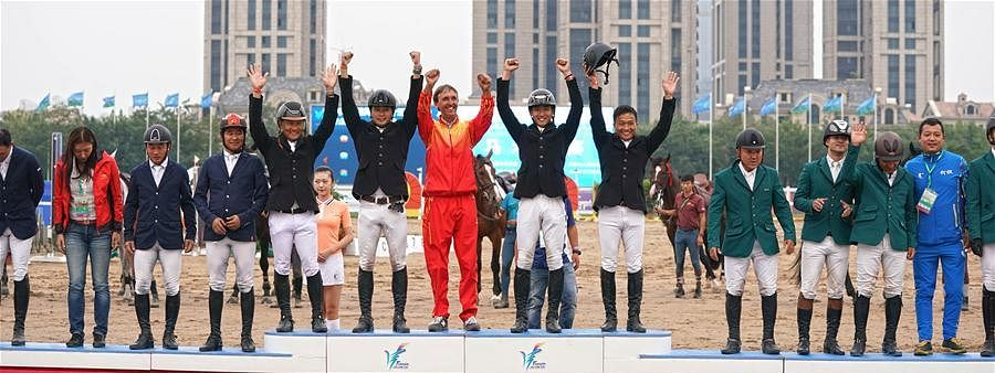 Chinese show jumping team qualify for Tokyo Olympic Games