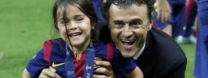 Luis Enrique's 9-year-old daughter dies of cancer
