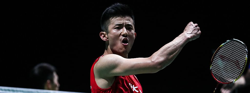 China's Chen Long survives scare to reach last eight