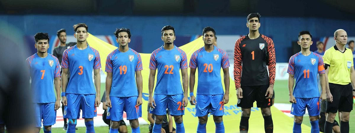 World Cup Qualifier against Oman in Guwahati