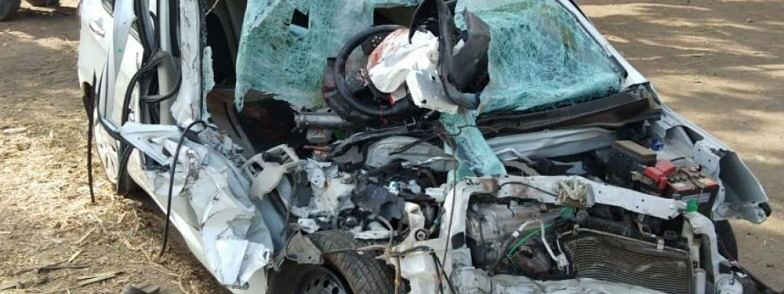 Four kanwariyas killed in road accident in UP