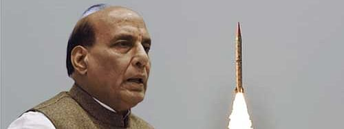 India missile technology development not to show aggression: Rajnath