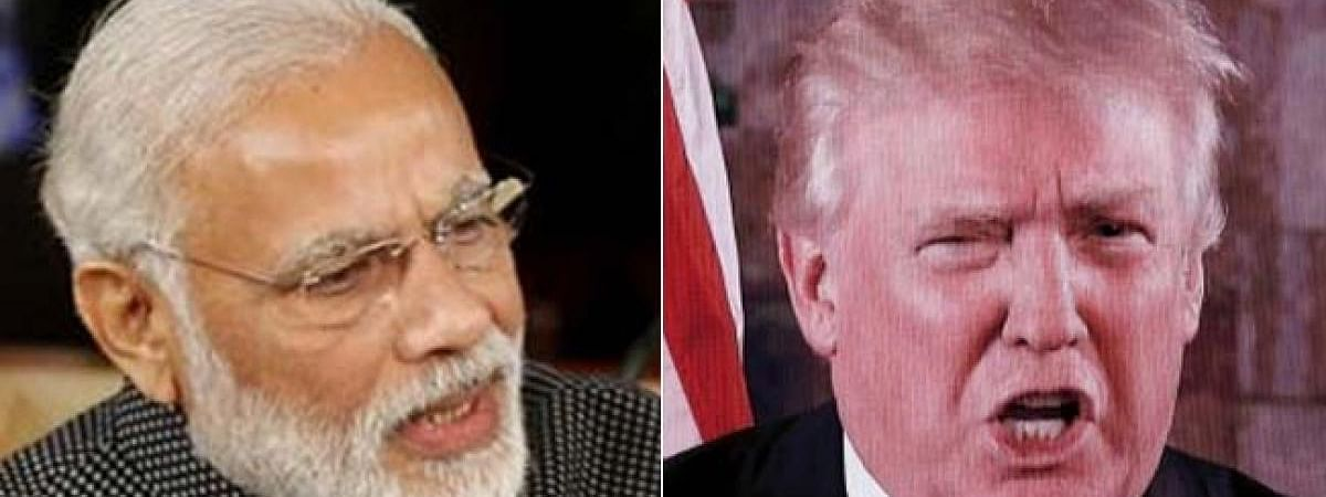Twitter hails Modi for terming 'Kashmir as bilateral issue' in Trump's presence