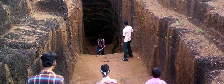 Observatory wall of Bekal fort partially damaged