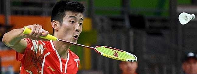 Olympic champion Chen Long reaches second round