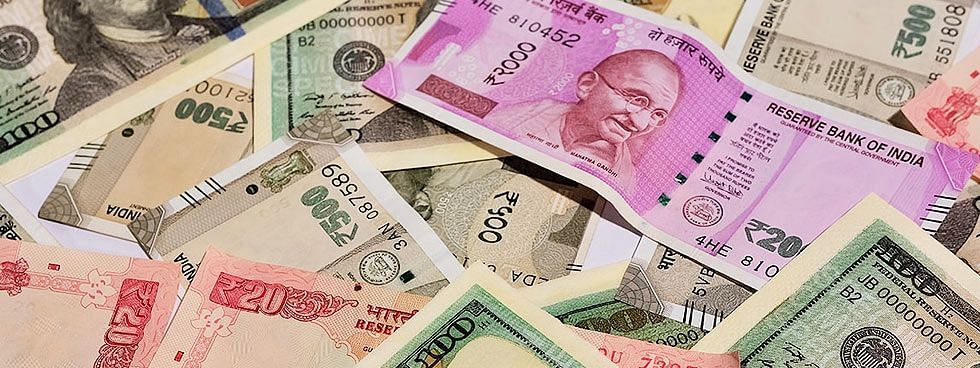 Rupee down by 28 paise to 71.43 against USD