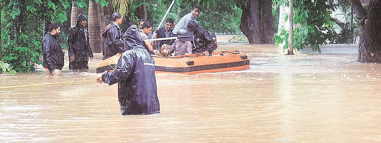Heavy rain batters many parts of Goa