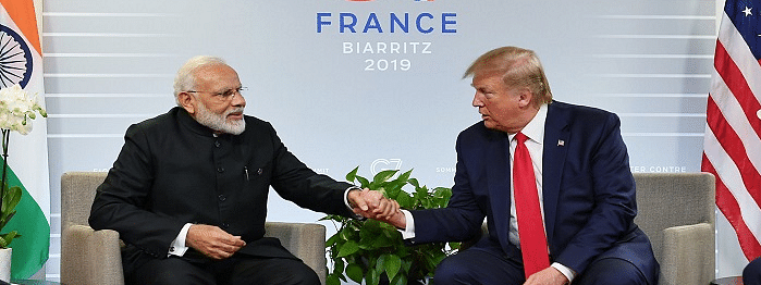 No scope for third party mediation with Pak: Modi to Trump