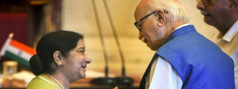 Sushma touched everyone with her warmth, a role model: Advani