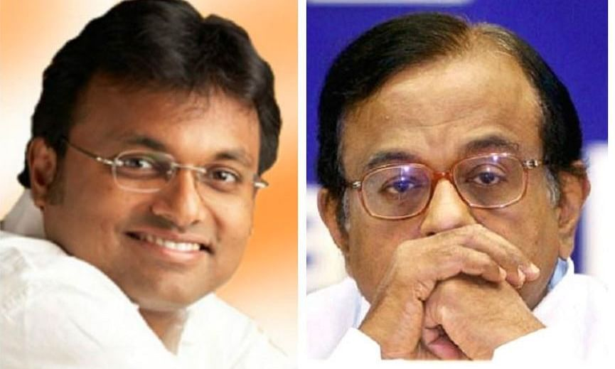 Chidambaram arrested after high drama;Karti calls it witch-hunt