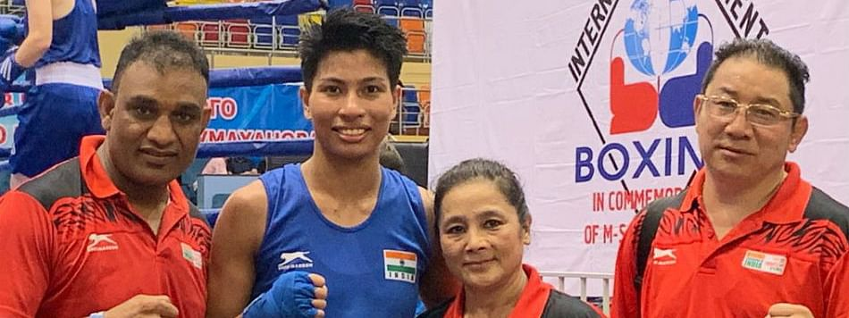 Four Indian boxers enter semis of Russian tourney