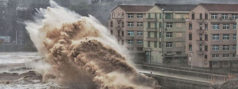 At least 13 dead, 16 missing as Typhoon Lekima makes landfall in China