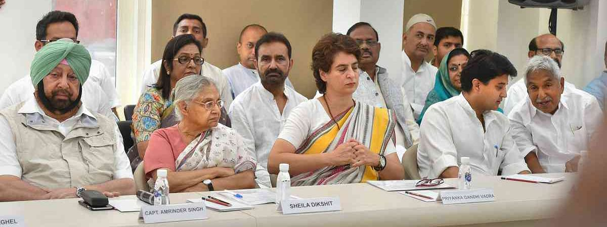 Priyanka participates in the Congress Working Committee meeting New