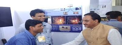 'Nishank' inaugurates technology exhibition TechEx