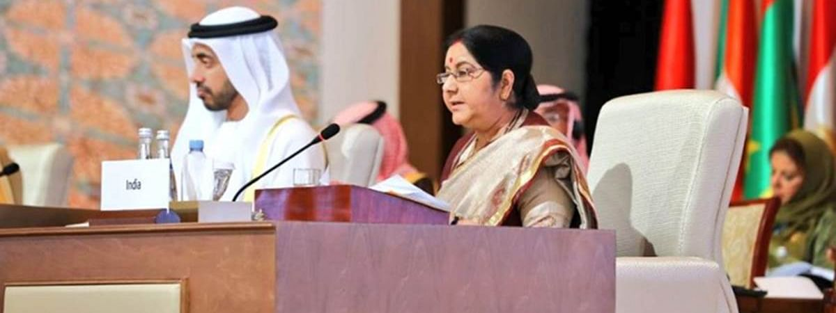 Sushma worked with Islamic nations to counter 'language of hate'