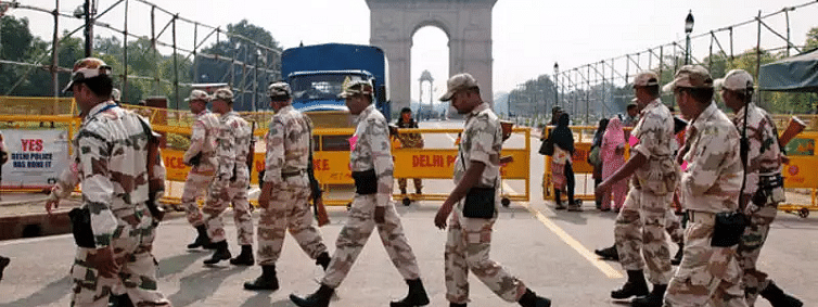Security heightened in Delhi in view of Independence Day