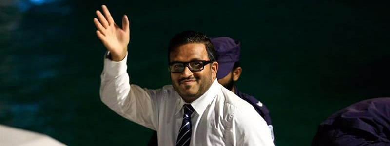 Former Maldives vice-president deported from India