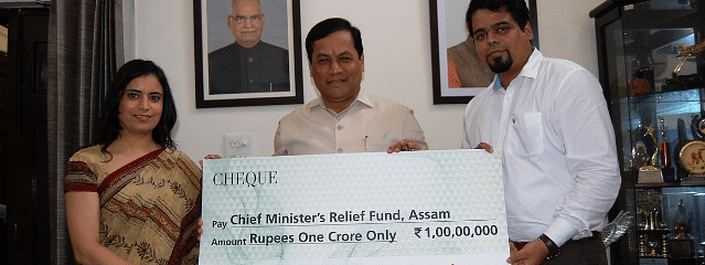 Fortis contributes Rs 1 cr to Assam flood relief