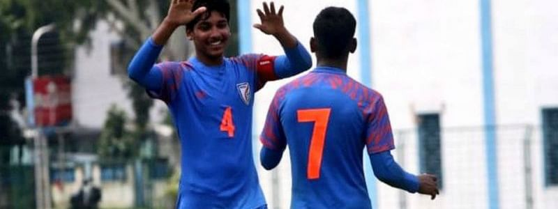 India beat Nepal 5-0 in the opener of the SAFF under-15 football championship