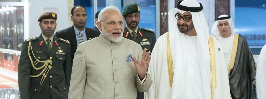PM Modi arrives at Abu Dhabi for strong bilateral ties
