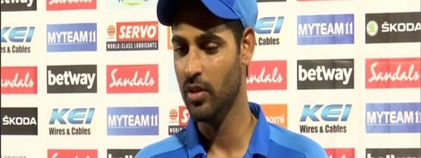 Virat badly wanted a hundred, Bhuvanesh Kumar