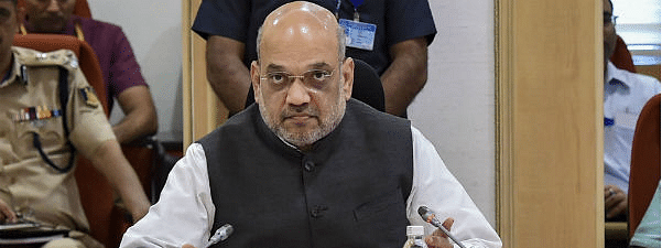 Shah chairs review meeting with Naxal-affected states' CMs