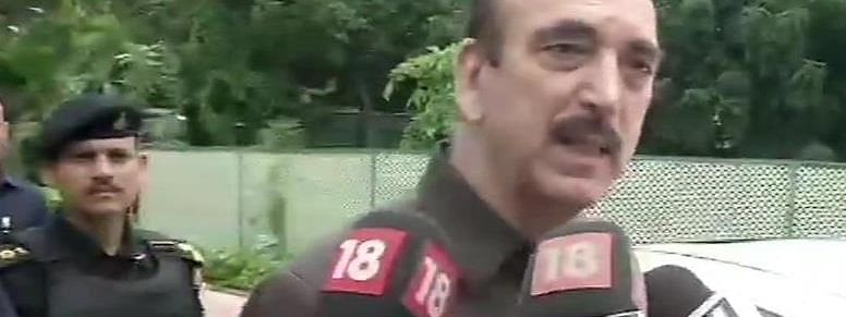 Azad takes jibe over Doval's video sharing food with Kashmiri people