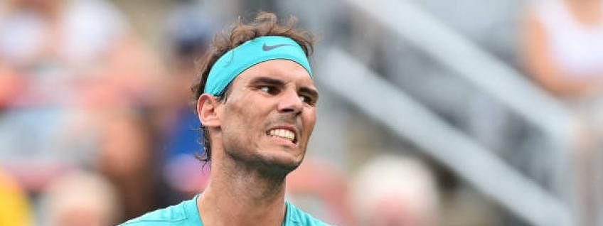 Lucky final-securer Nadal eyes second straight Rogers Cup