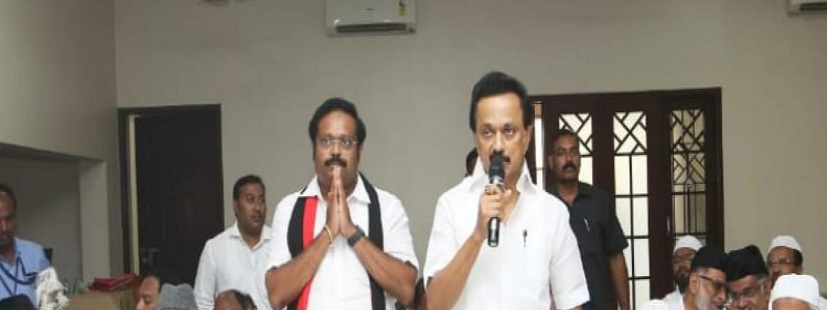 New Vellore MP meets Stalin