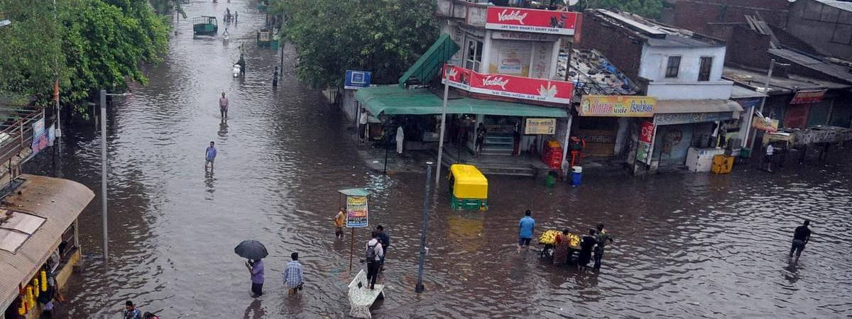 Eight killed in rain-related incidents in Gujarat