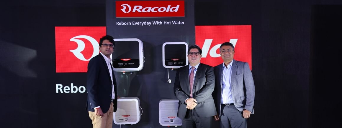 Racold launches two water heaters