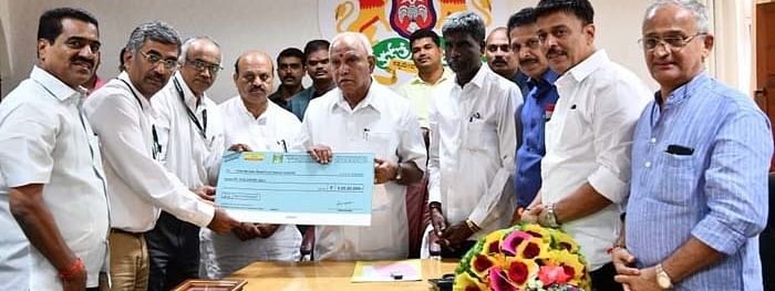 MRPL donates Rs.5 Cr to the food relief fund