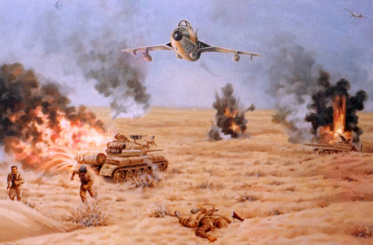 The Pakistani T59 tanks are decimated , with the surviving crew bolting