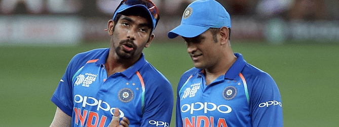 MS Dhoni, Bumrah excluded in India Squad for T20I series against South Africa