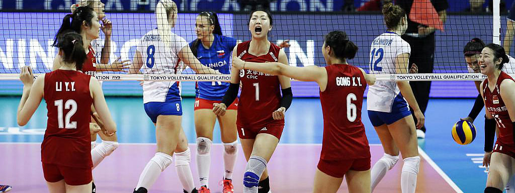 China's volleyball team among six teams to qualify for Tokyo Games