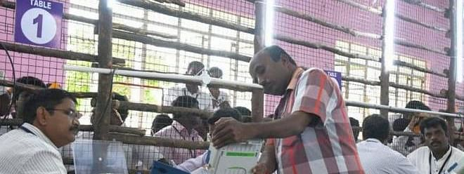 Vellore LS polls counting begins